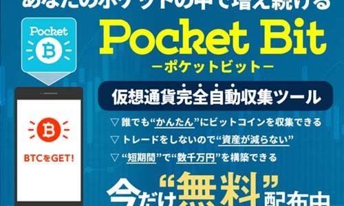 望月翔太「ポケットビット(Pocket Bit)」は落ちてるビットコイン収集ツール?