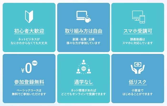 フロントラインワークスの特徴